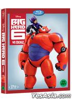 Big Hero 6 (Blu-ray) (2D) (Korea Version)