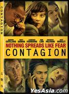 Contagion (2011) (DVD) (Hong Kong Version)