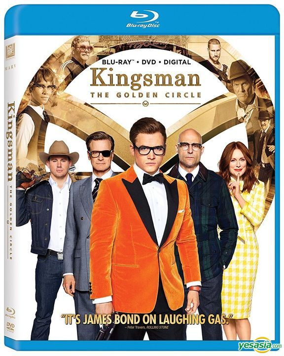 Yesasia Kingsman The Golden Circle 2017 Blu Ray Dvd Digital Us Version Blu Ray Mark Strong Taron Egerton 20th Century Fox Western World Movies Videos Free Shipping