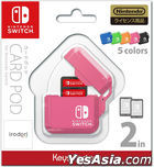 Nintendo Switch CARD POD (粉红色) (日本版)