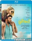 Gifted (2017) (Blu-ray + DVD + Digital HD) (US Version)
