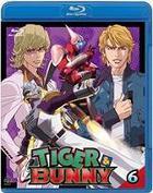 Tiger & Bunny (Blu-ray) (Vol.6) (Normal Edition) (English Subtitled) (Japan Version)