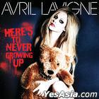 Avril Lavigne Single Album - Here's To Never Growing Up (Korea Version)