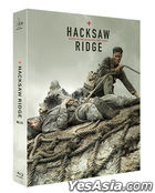 Hacksaw Ridge (Blu-ray) (Steelbook Lenticular Outcase Set) (Limited Edition) (Korea Version)