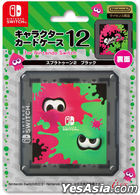 Nintendo Switch Character Card Case Splatoon 2 (黑色) (日本版)