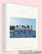 TWICE 1st Photobook - ONE in a Million (Sleeve Case + Hard Cover + Photobook + Making DVD) (Korea Version) + Standing Paper