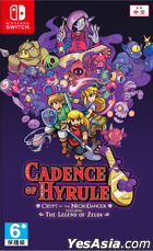 Cadence of Hyrule: Crypt of the NecroDancer Feat. The Legend of Zelda (Asian Chinese / English / Japanese Version)