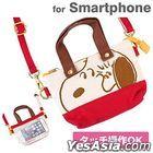 Peanuts : Mini Mini Tote Bag (Dekake Chao) Face SNG-108B