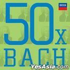 50X Bach (3CD)