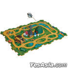 My Neighbor Totoro : Nekobus Rail Puzzle Matsugou Set