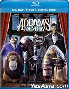 The Addams Family (2019) (Blu-ray + DVD + Digital Code) (US Version)