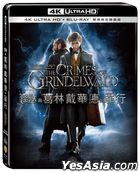 Fantastic Beasts: The Crimes of Grindelwald (2018) (4K Ultra HD + Blu-ray) (Steelbook) (Taiwan Version)