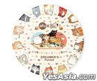 afu Ceramic Coaster - Cats' Life