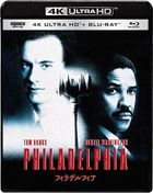Philadelphia [4K ULTRA HD + Blu-ray Set] (Japan Version)