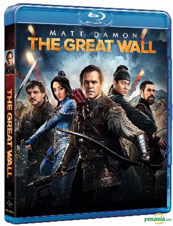 Yesasia The Great Wall 2016 Blu Ray Hong Kong Version Blu Ray Matt Damon Zhang Yimou Intercontinental Video Hk Western World Movies Videos Free Shipping North America Site