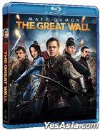 The Great Wall (2016) (Blu-ray) (Hong Kong Version)