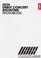 iKON Debut Concert [Showtime] Photobook + Sticker (First Press Limited Edition)