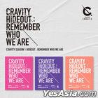 Cravity - Season 1 HIDEOUT: Remember Who We Are (Random Version) + Random Poster in Tube