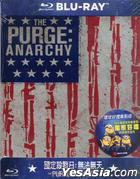 The Purge: Anarchy (2014) (Limited Edition SteelBook) (Blu-ray) (Taiwan Version)