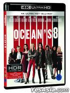 Ocean's 8 (4K Ultra HD + 2D Blu-ray) (2-Disc) (Korea Version)