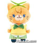 The Quintessential Quintuplets : with Cat Plush Key Ring w/Eyemask Yotsuba Nakano