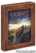 The Hobbit: An Unexpected Journey (DVD) (5-Disc) (Extended Edition) (Special Edition) (Korea Version)