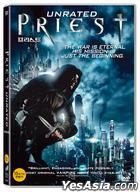 Priest (2011) (DVD) (Korea Version)