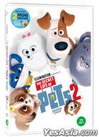 The Secret Life of Pets 2 (DVD) (Korea Version)
