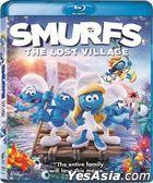Smurfs: The Lost Village (2017) (Blu-ray) (Hong Kong Version)