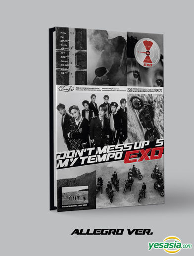 Yesasia Exo Vol 5 Don T Mess Up My Tempo Allegro Version Cd Exo Sm Entertainment Korean Music Free Shipping