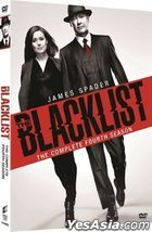 The Blacklist (DVD) (Ep. 1-23) (The Complete Fourth Season) (Hong Kong Version)