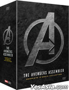 The Avengers Assembled Complete 4-Movie Collection (4DVD) (Limited Edition) (Korea Version)