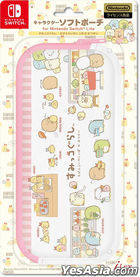 Nintendo Switch Lite Character Soft Pouch Sumikko Gurashi (Pink) (Japan Version)