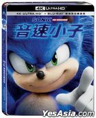 Sonic the Hedgehog (2020) (4K Ultra HD + Blu-ray) (Taiwan Version)