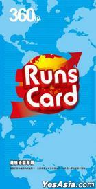 Runs Card 360-point Point Card