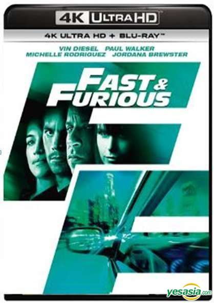 Yesasia Fast Furious 2009 4k Ultra Hd Blu Ray Hong Kong Version Blu Ray Vin Diesel Michelle Rodriguez Intercontinental Video Hk Western World Movies Videos Free Shipping