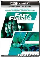 Fast & Furious (2009) (4K Ultra HD + Blu-ray) (Hong Kong Version)