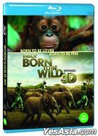 IMAX: Born to Be Wild (Blu-ray) (2D + 3D) (Korea Version)