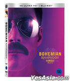 Bohemian Rhapsody (4K Ultra HD + Blu-ray) (Slip Case First Press Limited Edition) (Korea Version)