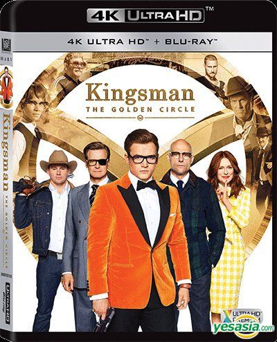 Yesasia Kingsman The Golden Circle 2017 4k Ultra Hd Blu Ray Hong Kong Version Blu Ray Taron Egerton Colin Firth 20th Century Fox Western World Movies Videos Free