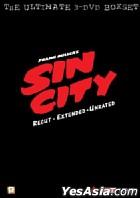 Sin City (The Ultimate 3-DVD Boxset) (DTS Version) (Hong Kong Version)