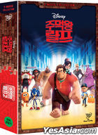 Wreck-It Ralph 1 + 2: 2-Movie Collection (2DVD) (Korea Version)
