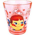 牛奶妹 透明塑膠杯 (紅色)