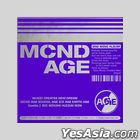 MCND Mini Album Vol. 2 - MCND AGE (GET Version) + Poster in Tube (GET Version)