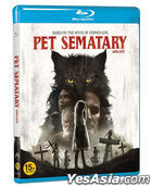 Pet Sematary (2019) (Blu-ray) (Korea Version)