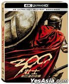 300壯士: 斯巴達的逆襲 (2006) (4K Ultra HD + Blu-ray) (Steelbook) (台灣版)