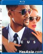 Focus (2015) (Blu-ray) (Hong Kong Version)