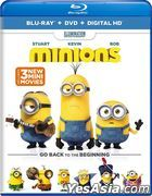 Minions (2015) (Blu-ray + DVD + Digital HD) (US Version)