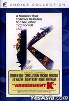 Assignment K (1968) (DVD) (US Version)