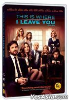 This is Where I Leave You (2014) (DVD) (Korea Version)